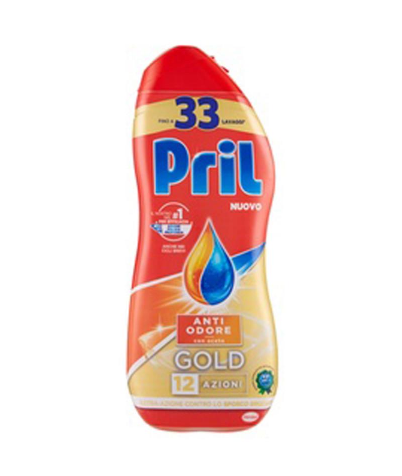 PRIL GEL 600ML ANTI ODORE