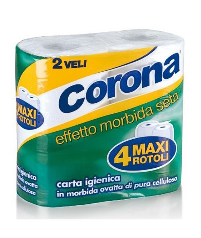 CORONA CARTA IGIENICA X4