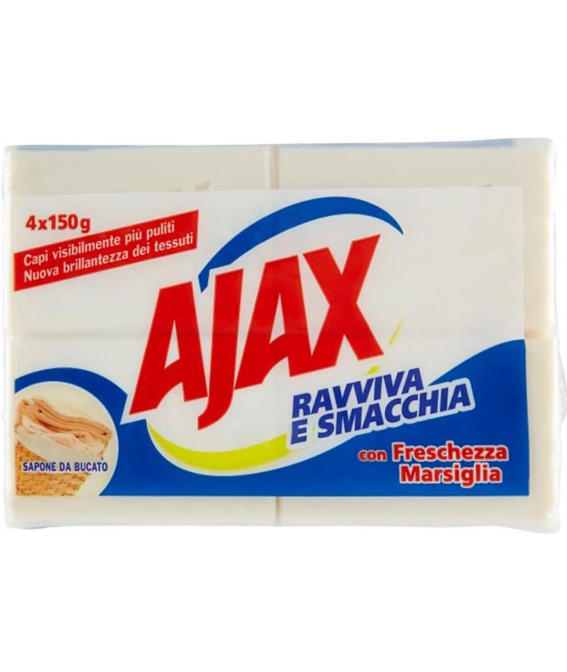 AIAX SAPONE BUCATO X4 150GR