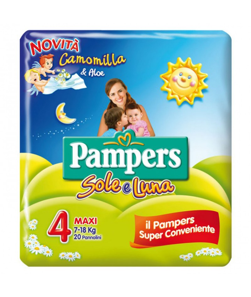 PAMPERS SOLE E LUNA...