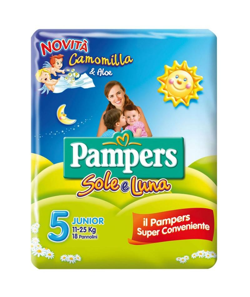 PAMPERS SOLE E LUNA...